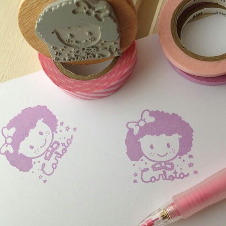 Maria Calcetines stamp