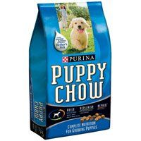 Purina Puppy Chow Complete Nutrition Formula Dry Dog Food 4.4 lbs > For more information, visit now : Dog food types