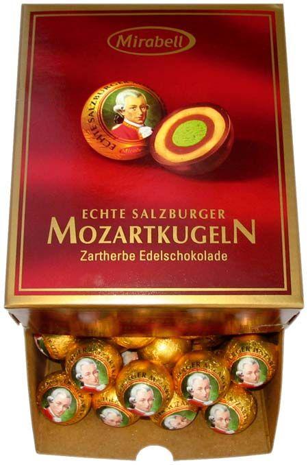 Mozart chocolate. Favorite candy in Vienna. Yummmmmm.