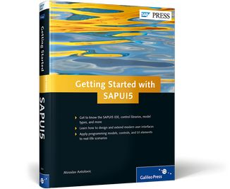Cover of Getting Started with SAPUI5