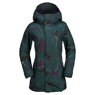 $280.00 - Volcom Gore-Tex Jacket - Women's - Free Shipping! Great Customer Service! - Volcom Gore-Tex Jacket - Women's: Features: GORE-TEX® 2-Layer Laminate Shell (bluesign® approved) V