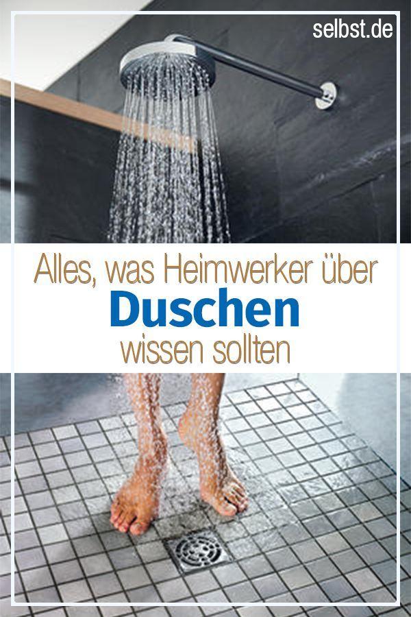 Dusche Badezimmer Renovieren Bodengleiche Dusche Selber Bauen