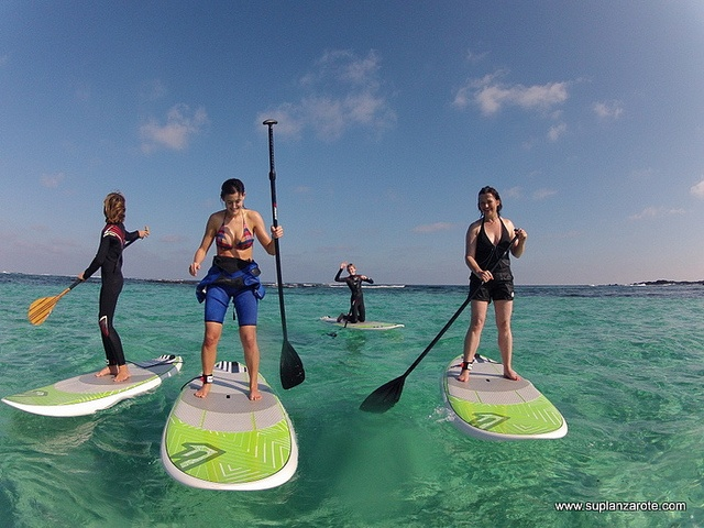 Stand up Paddle in popular in Costa Teguise.