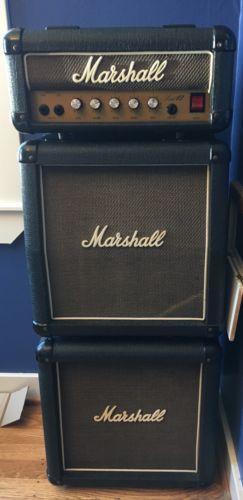VINTAGE MARSHALL LEAD 12 GUITAR AMPLIFIER MINI STACK AMP