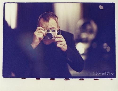 Auto retrato - Copyright Edward Olive fotografos para bodas y retratos wedding & portrait photographer Madrid Spain & Europe