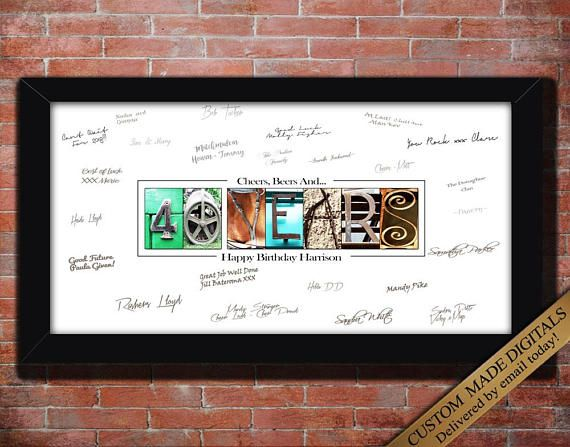 40th Birthday Gift For Man 40th Birthday Decoration For Men 40th Birthday Party Decoration For Men 40th Birthday Man 40th Birthday Ideas 40th Birthday Ideas For Men Husband 40th Birthday Gifts