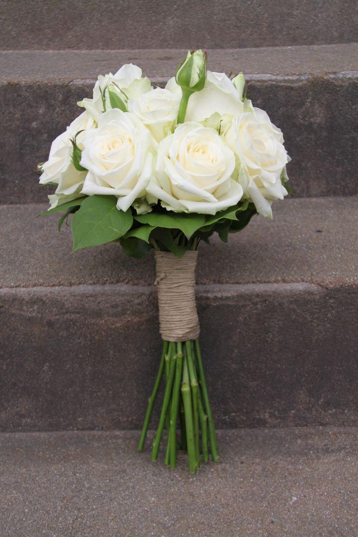 bröllopsbukett vita rosor - Sök på Google
