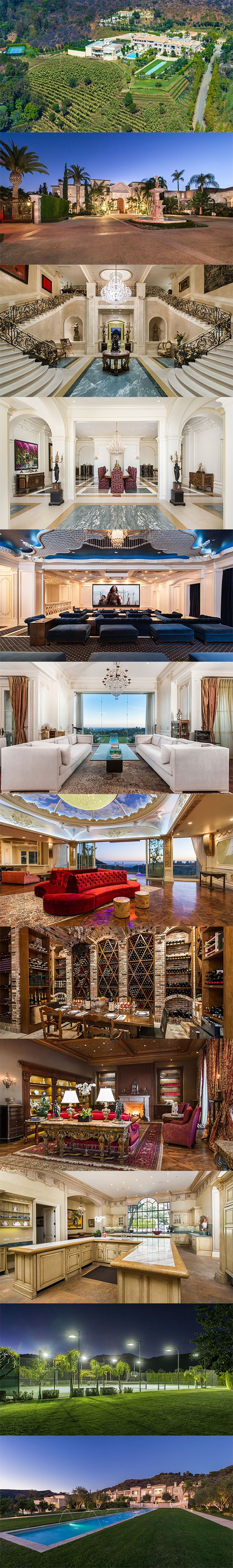 This $149 million, 25-Acre Beverly Hills Estate Can Host 1,000 People - Take a look and you will Truly be amazed