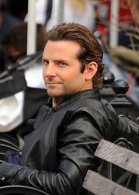 Bradley Cooper Hair Style for Men  combed back
