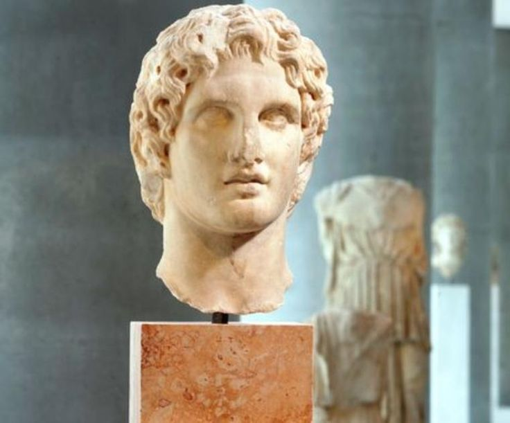 The best preserved sculpture of Alexander the Great - Imgur