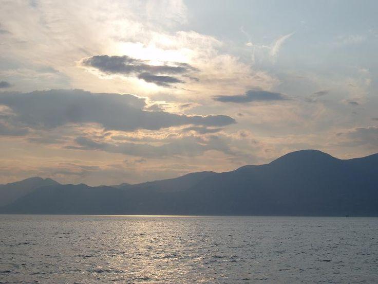 Summer Garda Lake