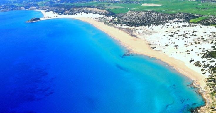 Golden beach at Karpas