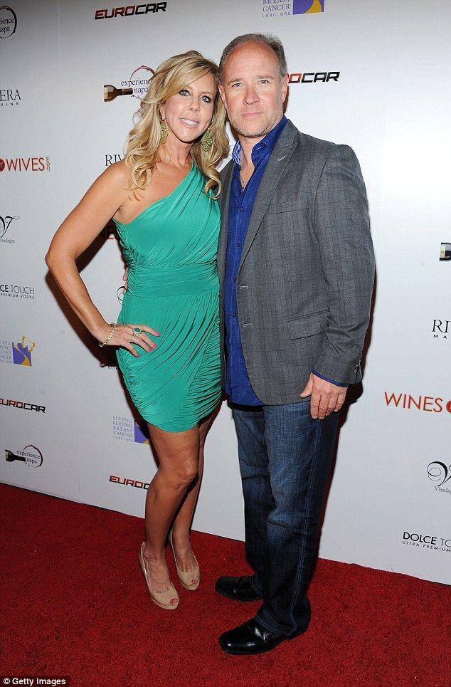 Vicki Gunvalson splits once again from on-off boyfriend Brooks Ayers #dailymail
