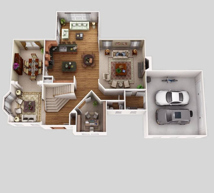 3d Floor Plans For New Homes