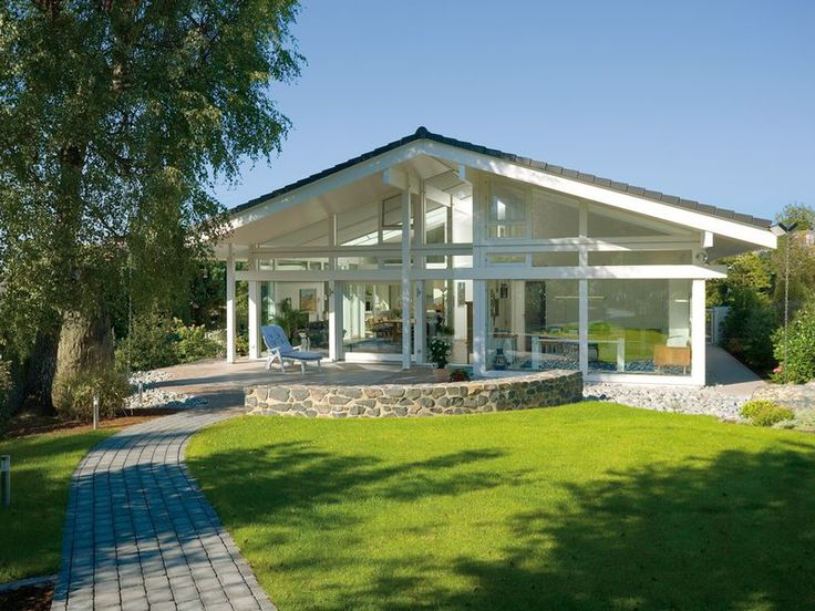 Huf haus bungalow if you prefer the convenience of for Bungalow haus modern