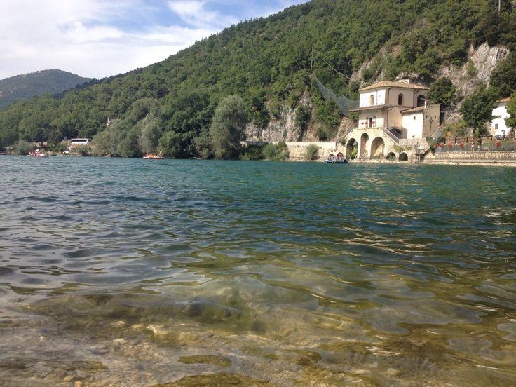 Lago di Scanno nel Scanno, Abruzzo