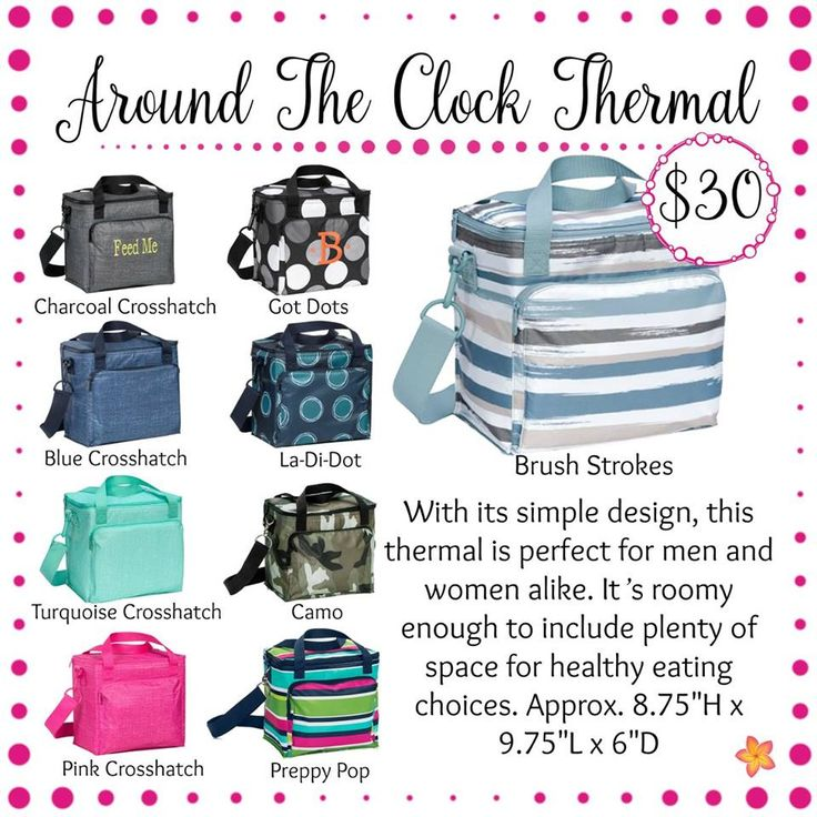 Around the Clock Thermal - Thirty-One Gifts - Spring / Summer 2017