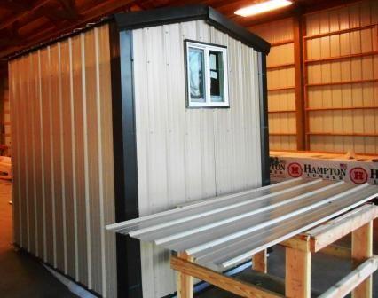 Discount Lumber Metal sheds