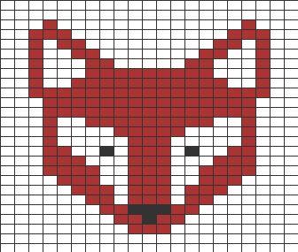 362 best quadrillage * tableaux double entrée & triple ... - Pixel Art Papillon
