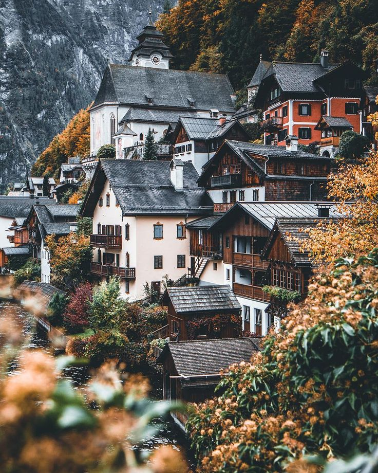 Hallstatt, Austria - Amazing Travel Landscapes by Janni Laakso #art #photography