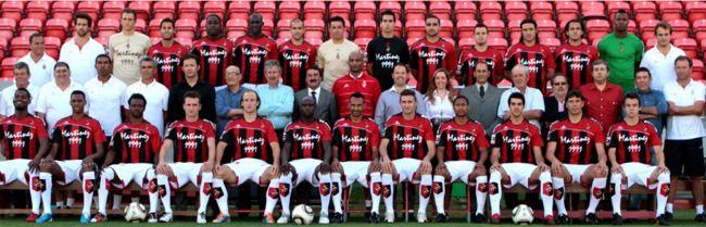 Equipa de 2010/2011. Lá nos aguentámos mais um ano na 1ª Divisão.