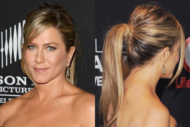 how to create soft textured ponytail