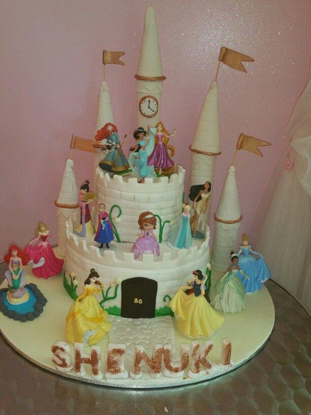 My daughter's Princess themed birthday cake.