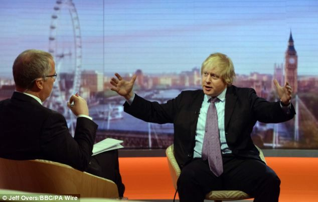 London Mayor Boris Johnson had to defend himself over questions about making up quotes, lying about an affair and giving out an address for a journalist to be beaten up