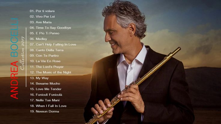 Andrea Bocelli Greatest Hits - Andrea Bocelli Best Songs [Live Collection]