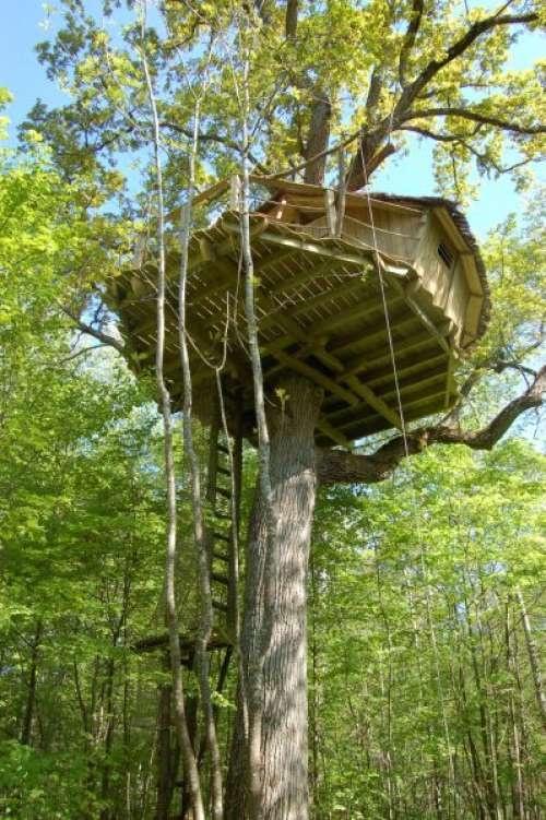 Domaine de Graville - Les cabanes de Graville - Cabane Henriette d'Entragues  4 cabanes 2 places et une 5 places
