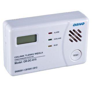 DD-ORNGE619 Domowy czujnik tlenku węgla [czadu] - zasilanie bateryjne Cyfronika