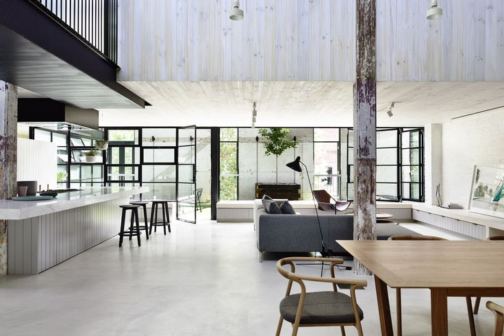 Industrial Style Residence – Fitzroy, Melbourne