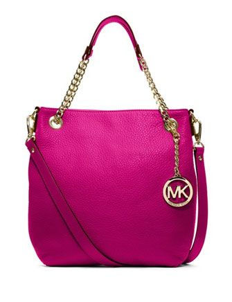 MICHAEL MICHAEL KORS MK Jet Set Medium Chain Shoulder Tote