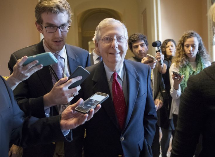 Senate Majority Leader Mitch McConnell said Friday that he has enough votes to get the GOP's $1.4 trillion-plus tax-cut plan across the finish line, as Republican holdouts gradually started to fall in line.