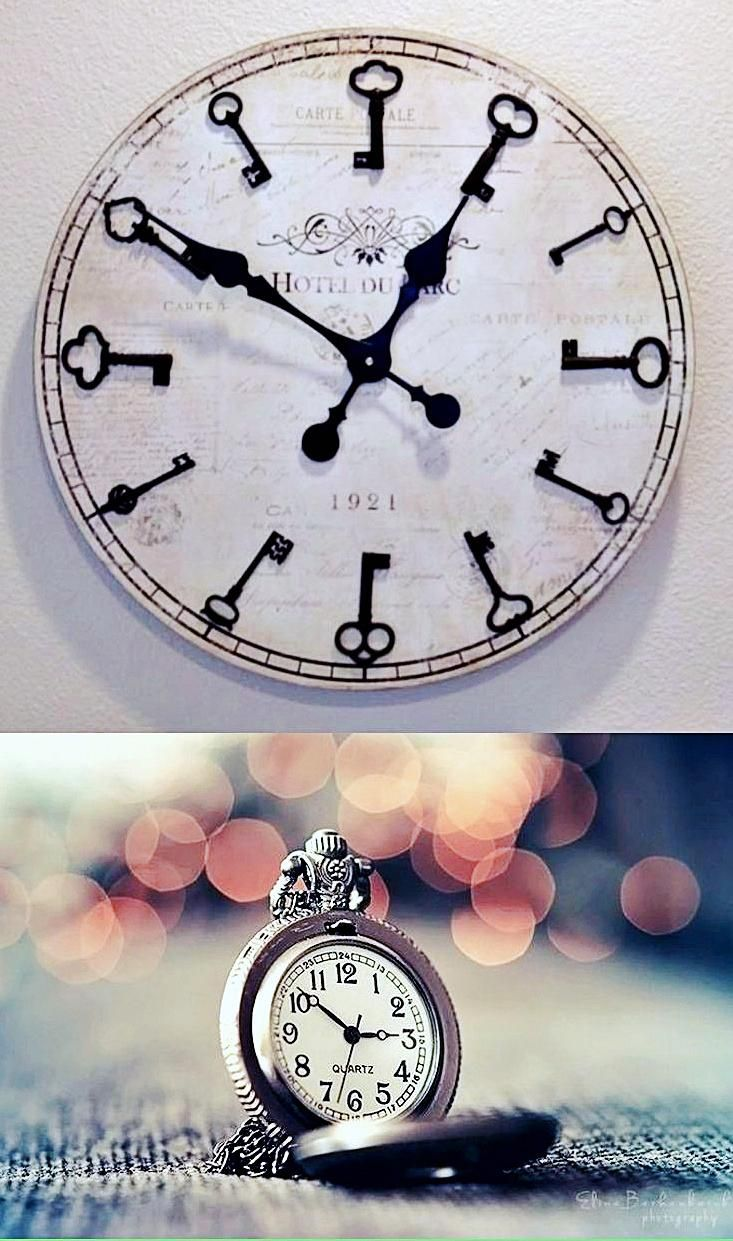 Bernhard Products Black Wall Clock Silent Non Ticking 10 Inch