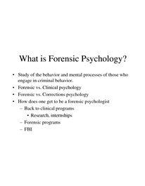 220 best images about Forensic Psychology on Pinterest   Criminal ...