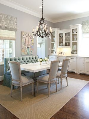 Love the use of space! Who needs a formal dining room...with a concept like this. Perfect for downsizing.