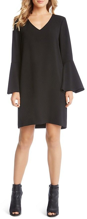 Karen Kane Madeline Bell-Sleeve Dress