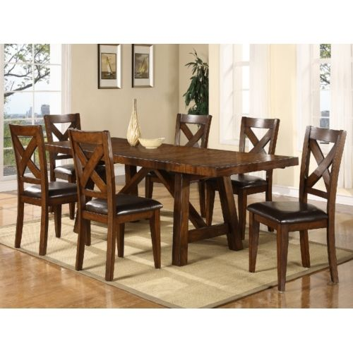 colonial table and 4 side chairs at hom furniture comes. Black Bedroom Furniture Sets. Home Design Ideas