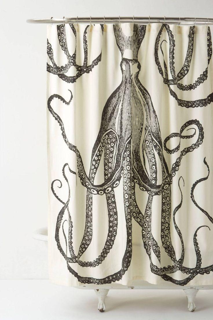 Octopus shower curtain cafe press - Octopus Garden Shower Curtain