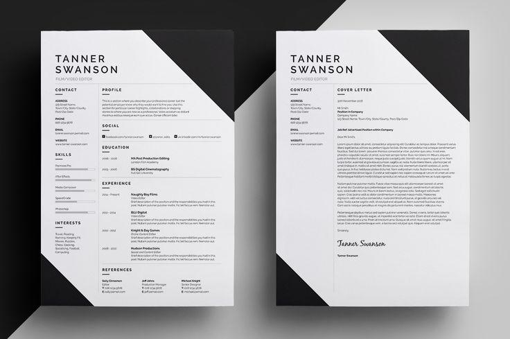 Best 25+ Cover Letter Design Ideas On Pinterest
