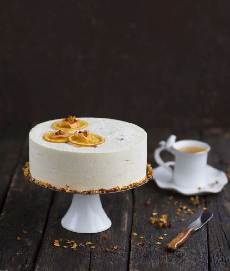 Muscovy carrot cake.