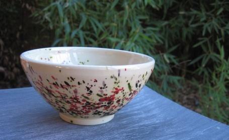 ceramics Terra d'Esperel - multicoloured bowl Mouchette family €9.00