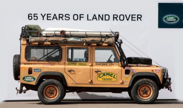 Camel Trophy Sandglow Land Rover Defender 110 300tdi Station Wagon