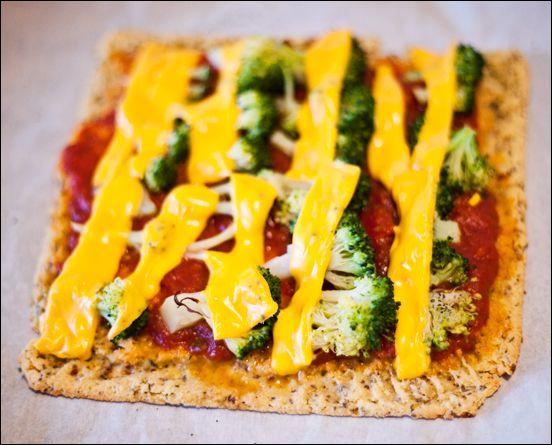 Gluten-Free Vegan Pizza Crust – Chickpea Flour Crust – Socca Crust – Healthy Vegan Mini Pizza