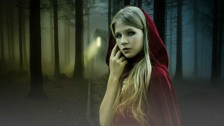 Chapeuzinho Vermelho, a história original de Charles Perrault e sua continuação. Outro lobo aborda Chapeuzinho Vermelho na floresta. O que teria acontecido?