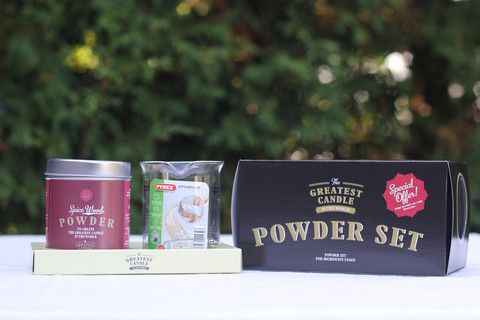 Spiced Wood Powder Set