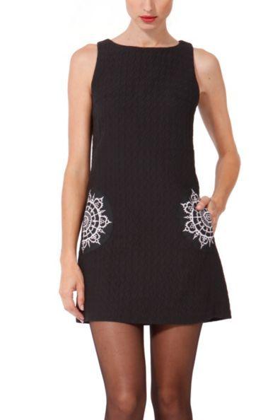 Good idea for dress pockets (DIY) Desigual Ramone Dress