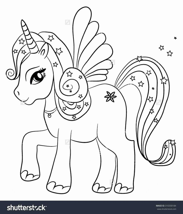 Rainbow Coloring Pages Free in 2020 | Unicorn coloring ...