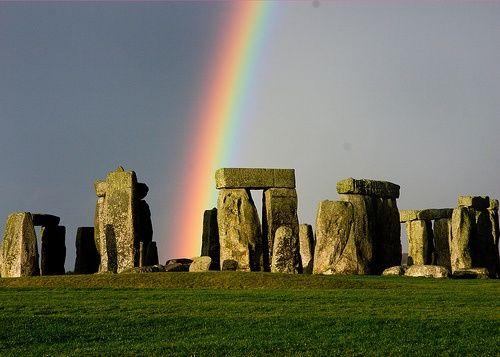 Stone Henge Rainbow